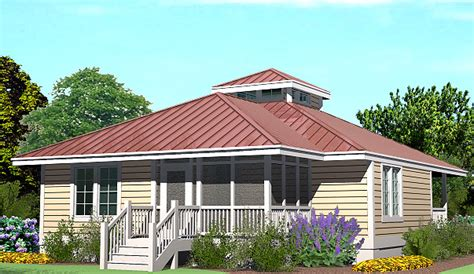 Hip Cottage 1260 Sf Southern Cottages Cottage Roof Plans