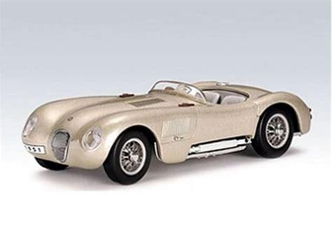 autoart diecast model jaguar c type 1951 in light bronze