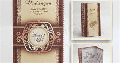 Sale Undangan Pernikahan Kartu Undangan Jago 02 blangko undangan jago 8 rp 250 sabina pusat blanko undangan pernikahan jakarta surabaya