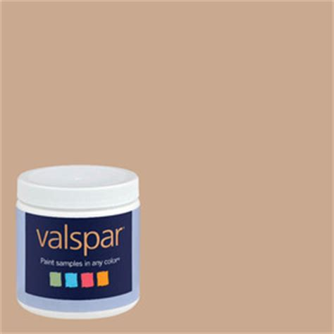 shop creative ideas for color by valspar 8 oz latte interior satin paint sle at lowes