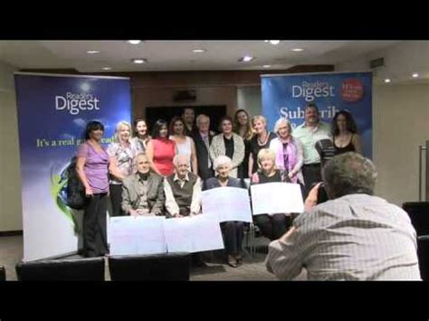 Strike It Rich Sweepstakes - reader s digest strike it rich sweepstakes winners presentation 08 02 2013 youtube