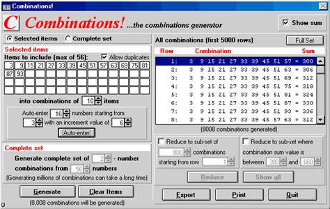 Letter Character Combination Generator Baba Ijebu Lotto Tomorrow Wining Number Software Combinations For Windows Rando