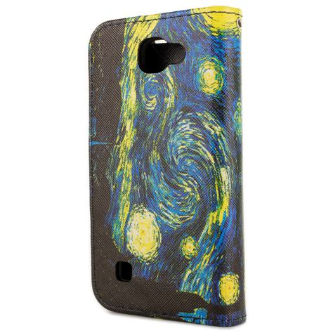 Lg K4 Casing Book Flip Cover Kasing wallet pouch flip stand phone cover and screen protector for lg k4 spree ebay