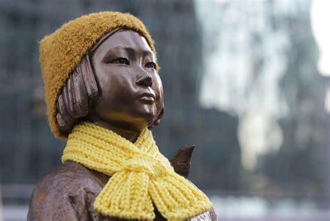 comfort vietnam makers of comfort women statue to create vietnam pieta