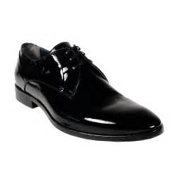 Corvari designer mens dress shoes vernice black patent leather oxfords