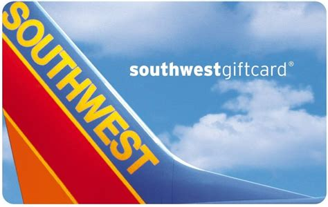 Southwest Gift Cards Discount - southwest airlines gift cards review buy discounted promotional offers gift cards
