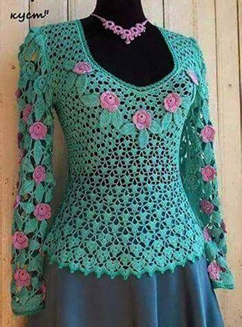 ver a travs de la blusa ganchillo blusa patrones tallas grandes de 124 mejores im 225 genes de blusa a crochet en pinterest