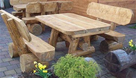 Gartenmöbel Massivholz Rustikal 751 by Rustikale Gartenm 246 Bel Vieles Aus Holz
