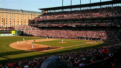 what is section 61 oriole park at camden yards section 61 row 2 baltimore