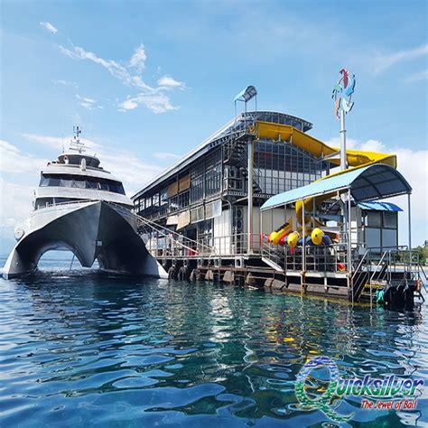quicksilver fast boat quicksilver cruise thenusapenida paket tour murah