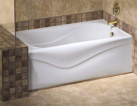 alcove bathtub installation vichy a 6032 bathtub with apron for alcove installation