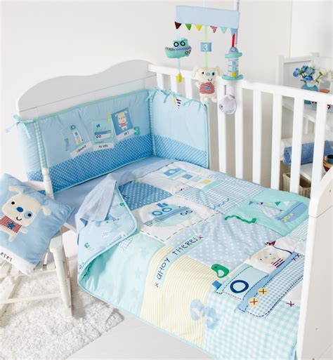 cot coverlet a nautical nursery with clair de lune review family fever