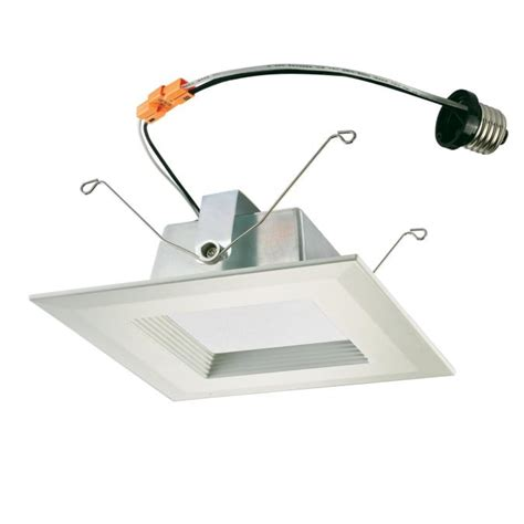 Lu Downlight 15 Watt westinghouse 6 inch square recessed led downlight 15 watt 100 watt equivalent medium base warm whi