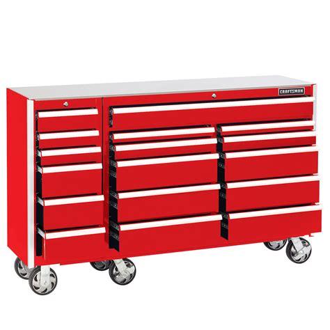 heavy duty drawers craftsman edge 68 in 17 drawer premium heavy duty
