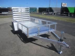 aluminum utility trailers open trailers landscape trailers