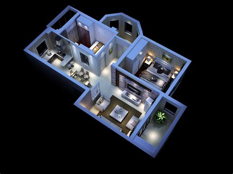 interior house model modern house interior 3d model max cgtrader com