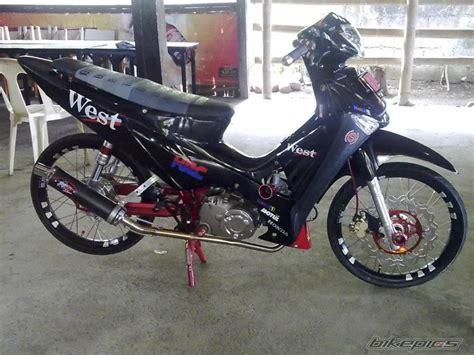 Sticker Motor Honda Supra X 125 R 12 Hitam Merah bikepics 2012 honda wave 125 cars honda