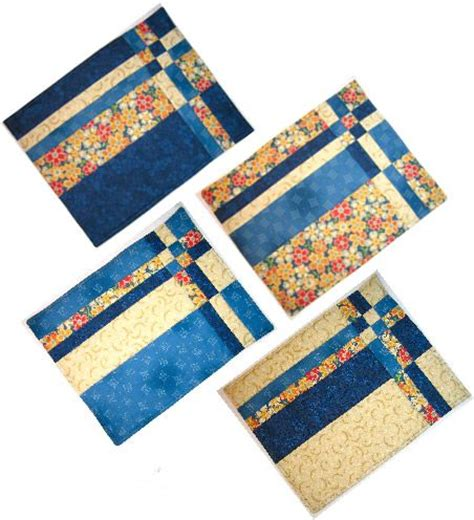 Patchwork Table Mats Pattern - 25 unique placemat patterns ideas on quilted