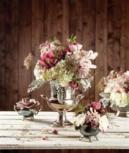Hydrangeas In A Vase Minnesota New Romantics Rustic Wedding Bouquets And