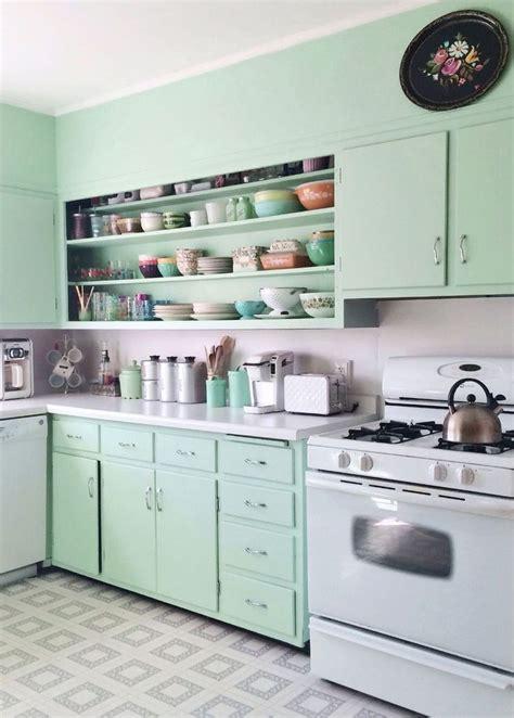 kitchen mint green best 25 mint green kitchen ideas on mint