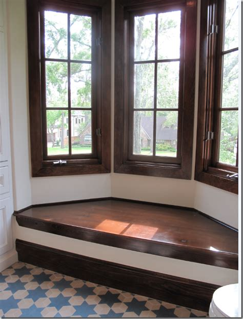 bay window seat cement tile floor house interiors pinterest tile flooring cement and