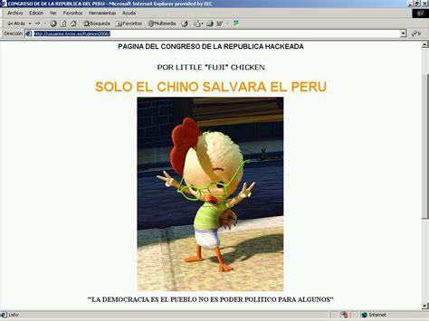 Webe Trifungsi 916 presuntos fujimoristas hackean p 225 congreso webe ndo