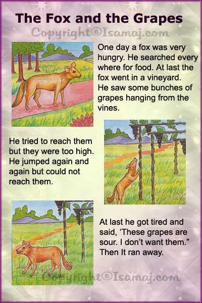 themes for stories with morals moral stories the fox and the grapes kids moral stories