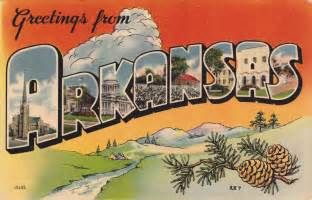 greetings from arkansas postcard roundup