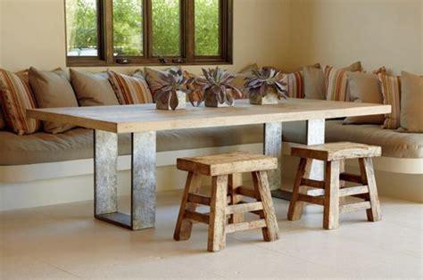 mesas de comedor modernas de madera maciza m 225 s de 50 ideas mesas de madera maciza para el comedor