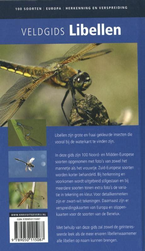 frank weiß veldgids libellen frank bos 9789050115087 boek eci nl