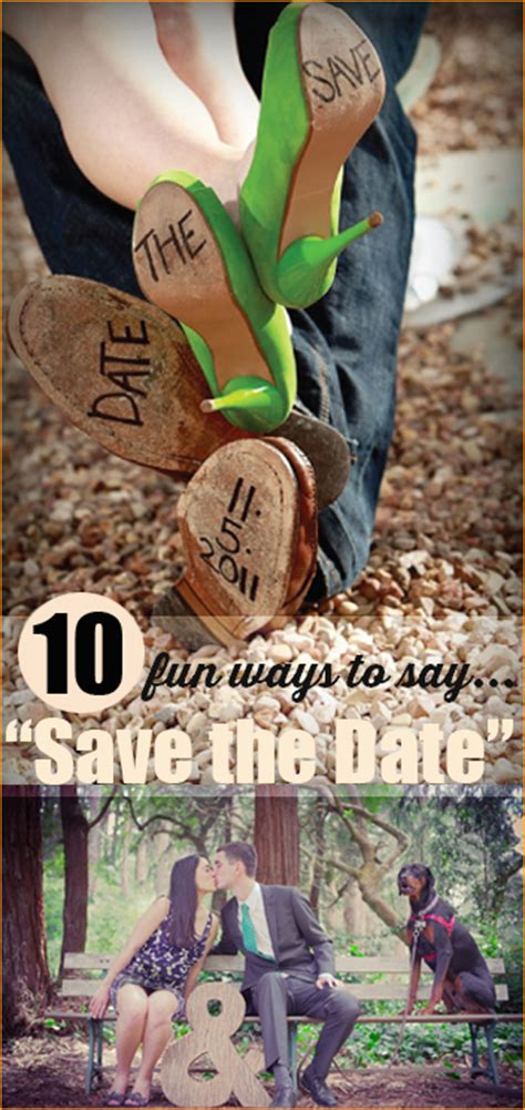 Ways To Save The Date by Save The Date Announcements S Ideas