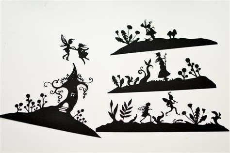 Arts And Crafts For Home Decor fairyland lanterns printable silhouettes adventure in a box