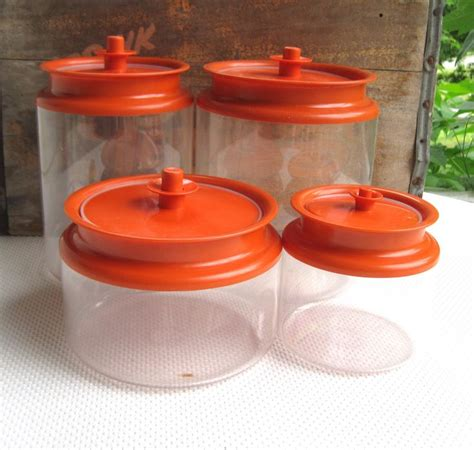 Tupperware Canister tupperware canisters and vintage tupperware on