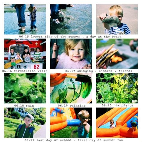 design photo collage photoshop summer in snapshots week one and a simple way to make a