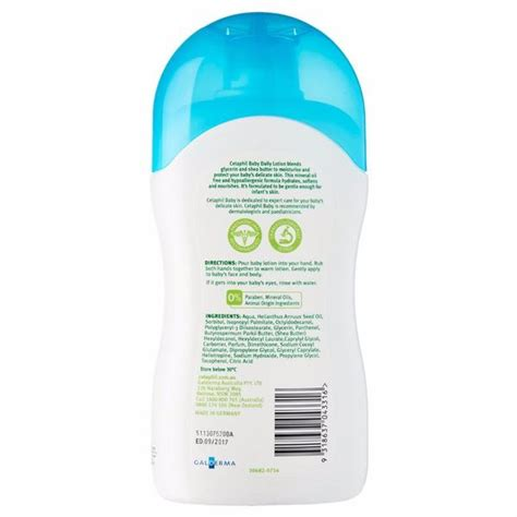 New Cetaphil Baby Daily Lotion With Sea Butter 400ml 400 Ml Exp 0119 cetaphil baby daily lotion with shea butter righttolearn
