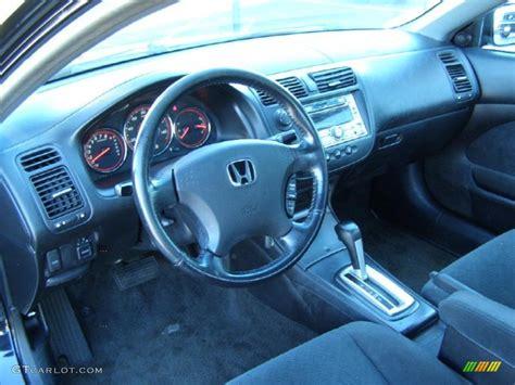 2005 Honda Civic Lx Interior by Black Interior 2005 Honda Civic Lx Coupe Photo 39251204 Gtcarlot