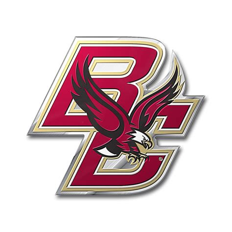 boston college colors boston college eagles color emblem car or truck decal