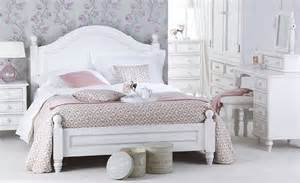 montpelier white painted bed single or king size
