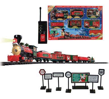 sterling north pole express christmas holiday train set