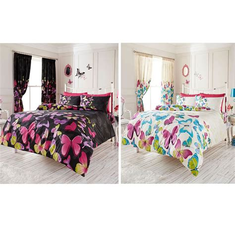 Single Butterfly Duvet Cover fashion butterfly single or king size duvet cover sets new bedding ebay