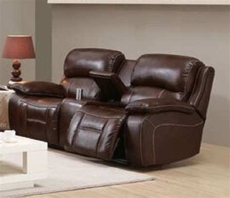 Westminster Top Grain Leather Reclining Loveseat Best Leather Recliner Sofa
