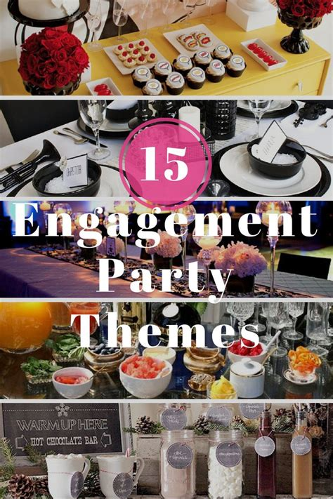 themes engagement party need some engagement party inspiration here are our top