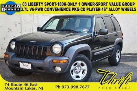 03 Jeep Liberty Mpg Buy Used 03 Liberty Sport 180k Only 1 Owner Sport Value