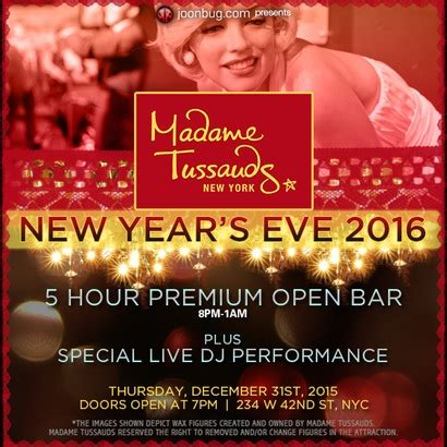 madame tussauds times square new years madame tussauds new year s madame tussauds times square new year s