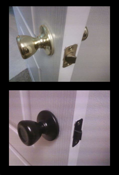 How To Paint Brass Door Knobs by Bath Lighting Fixtures Rubbed Bronze The Drawing