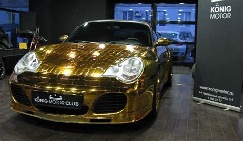 trump gold plated car for sale gold plated porsche 996 turbo cabriolet gtspirit