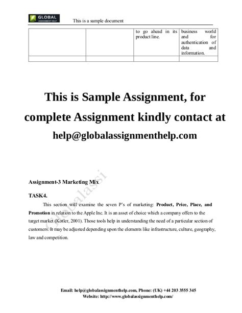 email format gm com introduction to marketing assignment sle