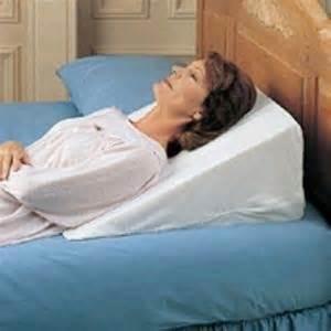 foam bed wedge pillow acid reflux pillow