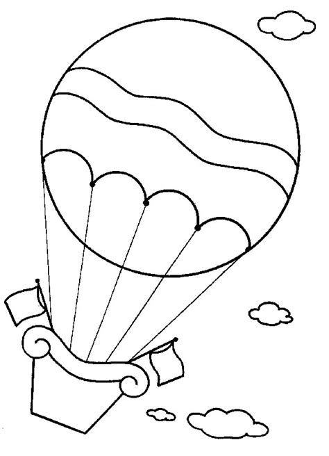 balloons coloring pages preschool kids n fun com 11 coloring pages of hot air balloons