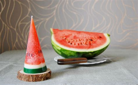 Handmade Fruits - handmade fruit candles look realistic enough to eat